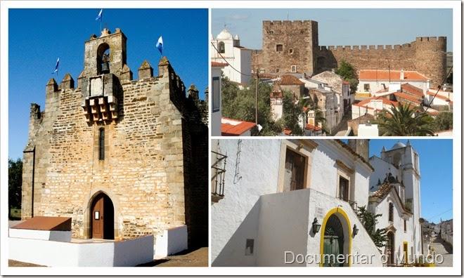 Santuário de Nossa Senhora da Boa Nova; Castelo de Terena; Terena