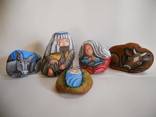 Navidad, Belenes Originales,  Piedra