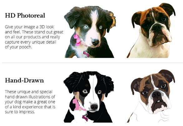 HD Photoreal or Hand-Drawn PrideBites options