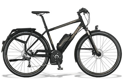 Scott Bosh ebike e-bike for rent rental bicycle Florence Tuscany