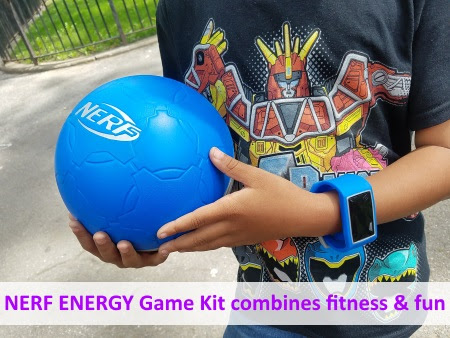 The Mommy Factor reviews NERF ENERGY Game Kit, which combines fitness and fun