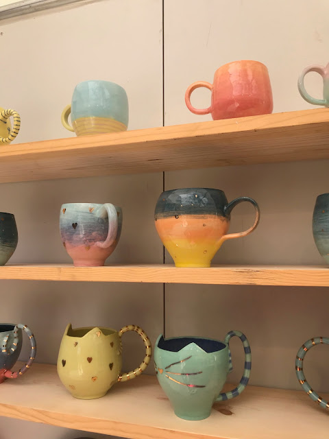 drinking mugs with cat faces