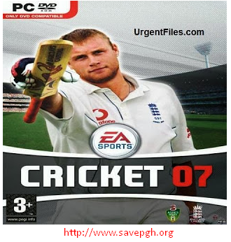 EA  Sports Cricket 2007 Pc Game Latest Version Free Download For Windows