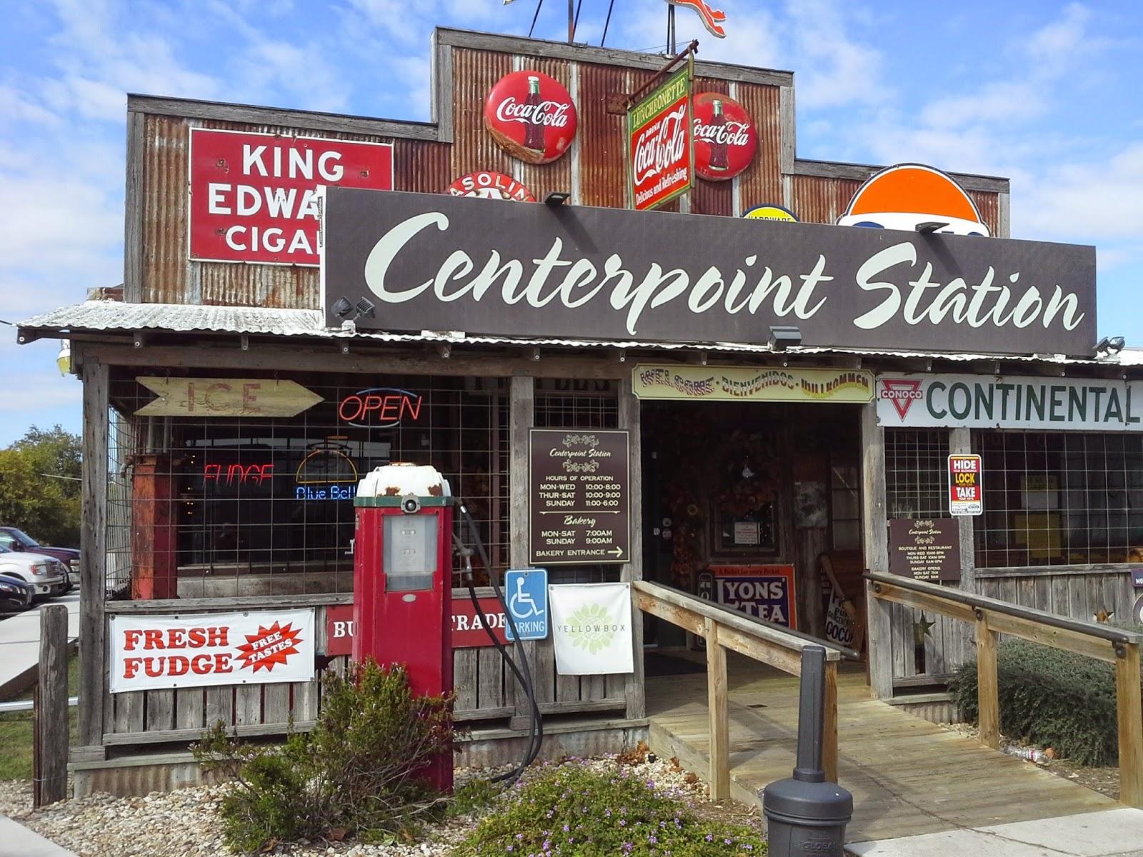 Breakfast Bro -- Texas Edition : Centerpoint Station Of