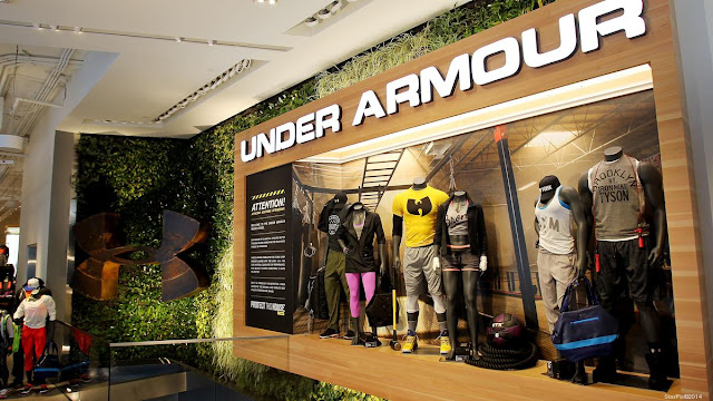Under Armour rebaja sus previsiones para 2016