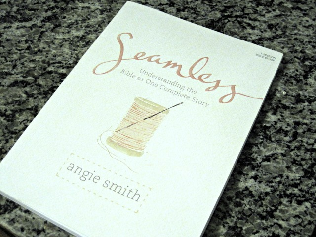 "A review of the Bible study ""Seamless"" by Angie Smith"