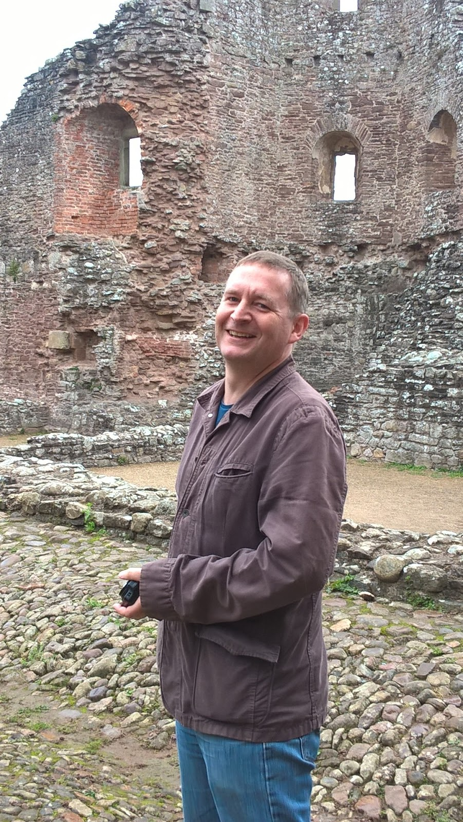 Mat Hobbis at Raglan Castle
