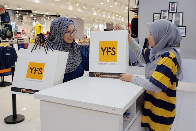 Jimat Wang, Masa Dan Tenaga Dengan YFS Concept Store