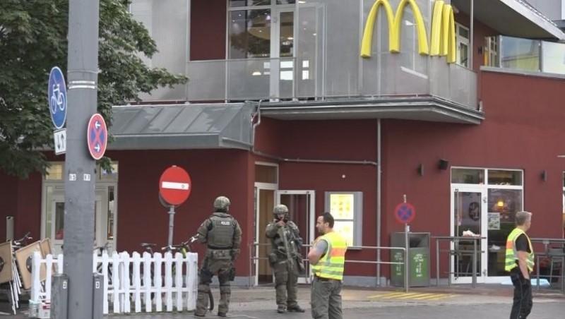 Lokasi penembakan brutal di Munich, Jerman
