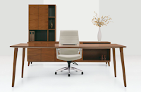 Mid Century Executive Office Furniture