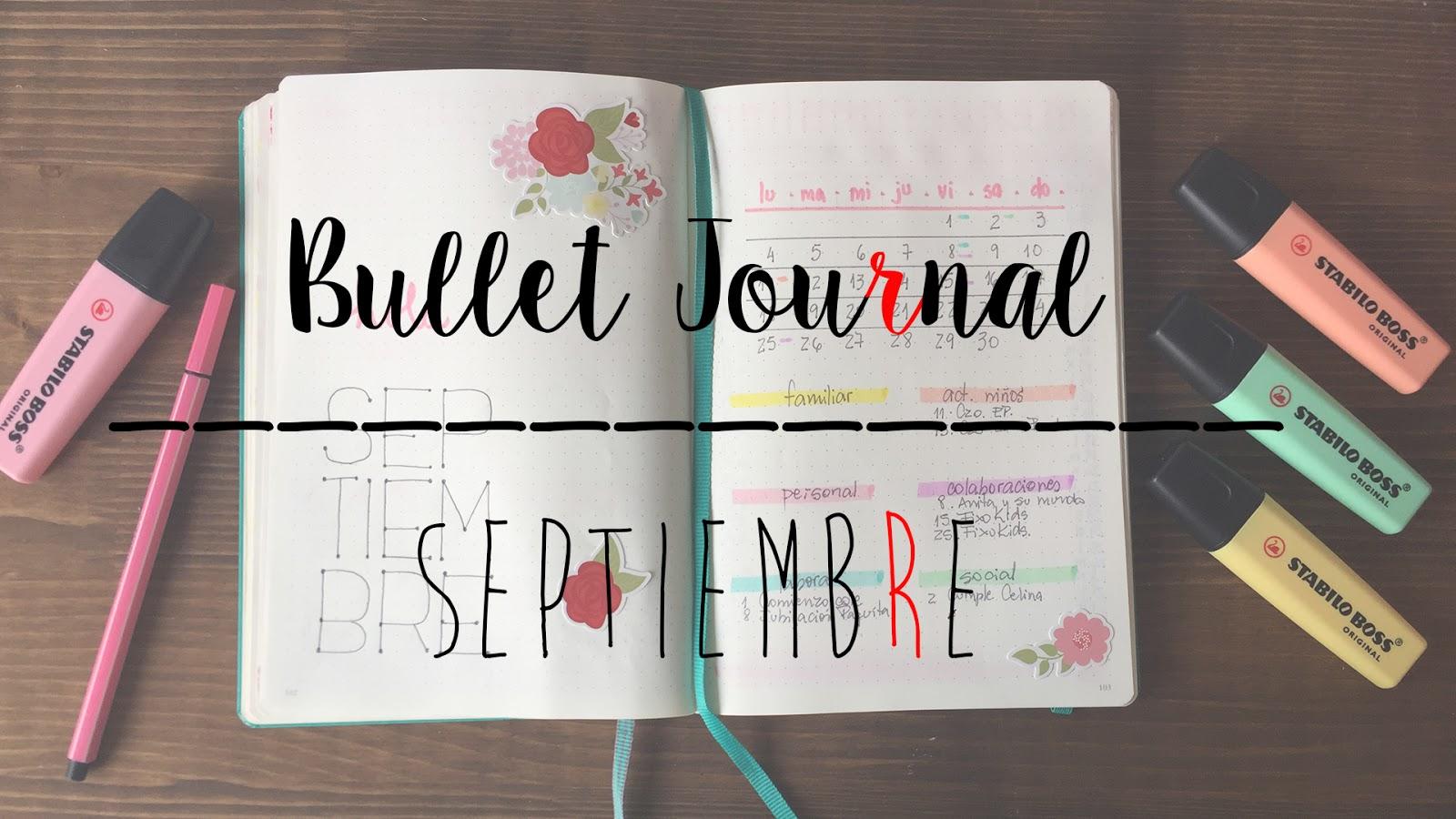 BULLET JOURNAL SEPTIEMBRE