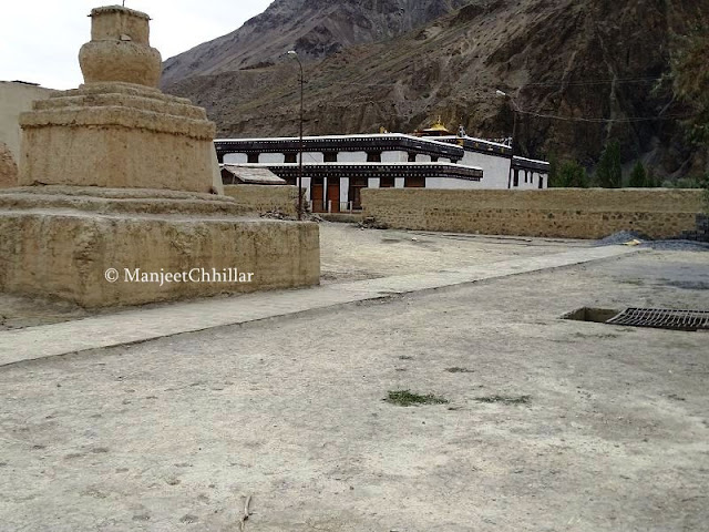 Tabo Monastery Courtyard