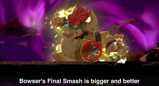 Super Smash Bros. Ultimate Bowser's Final Smash Yoshi's Island