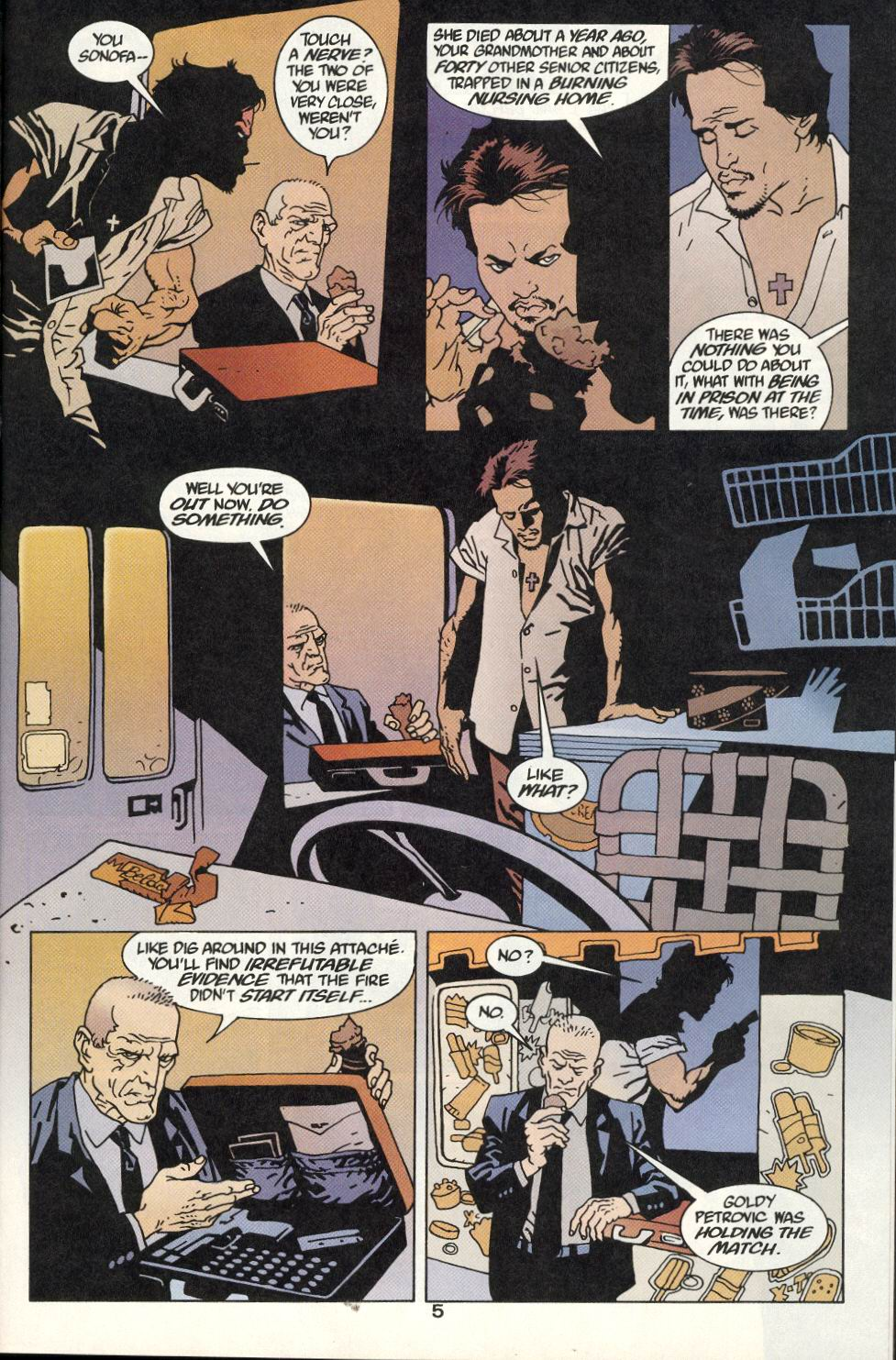 Read online 100 Bullets comic -  Issue #9 - 7