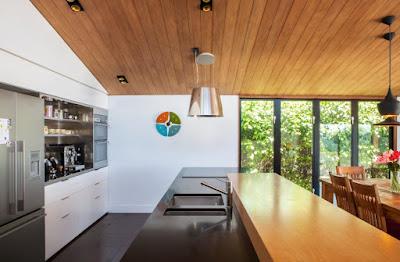 แบบห้องครัวเคาเตอร์ไม้