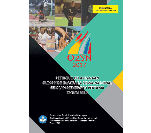 Petunjuk Pelaksanaan O2SN Olimpiade Olahraga Siswa Nasional SMP Tahun 2017