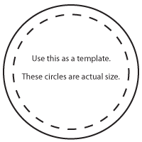 Atheists humanists agnostics aha winter break for 7 inch diameter circle template