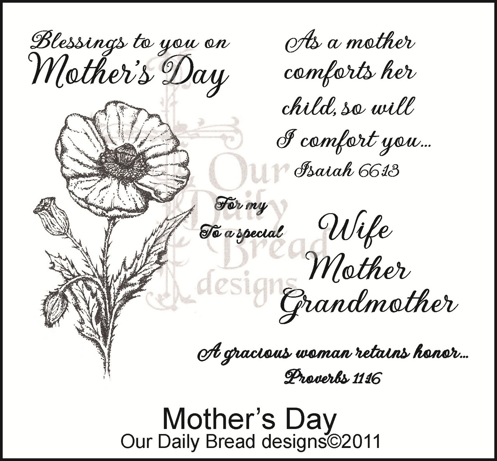 Mother Day Bible Quotes. QuotesGram