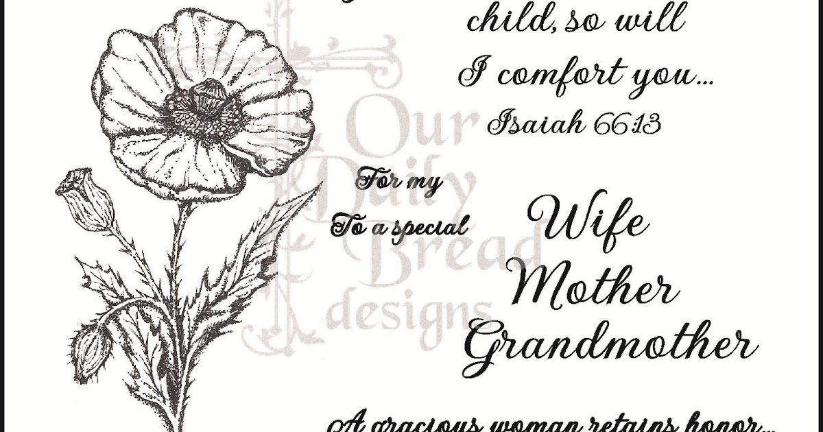 Our Daily Bread designs Blog: April New Releases!