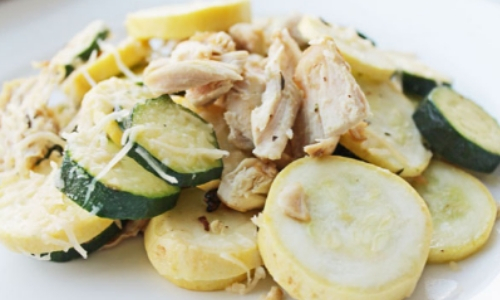 Healthy Chicken, Zucchini and Parmesan Melt Recipe, Health Nutrition, Food Health Nutrition
