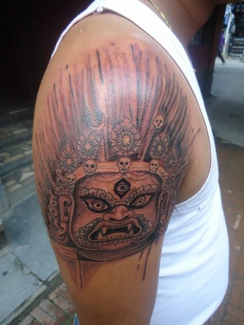 Funky Buddha Tattoo Thamel Kathmandu Lord Shiva And