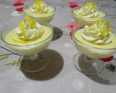 dessert mousse onctueuse au citron