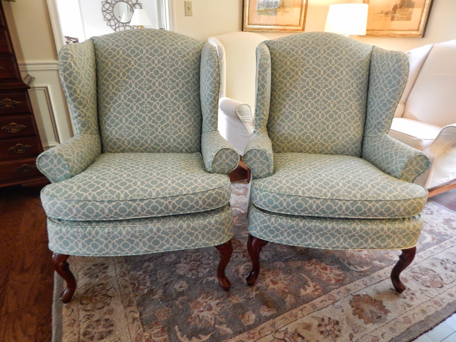 Slipcovers For Sofa Cushions Only Mart Leather Sectional Pam Morris Sews: Waverly Sun N Shade