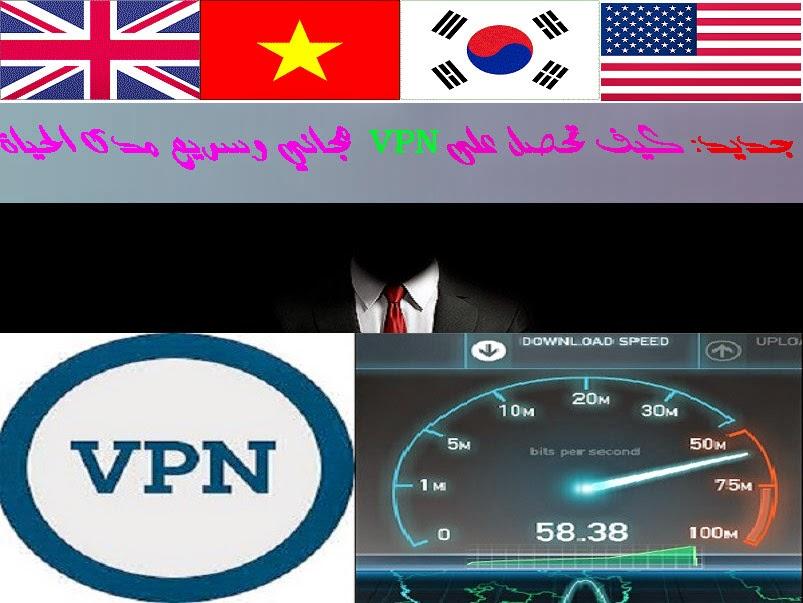 كيف تحصل على VPN مجاني وسريع مدى الحياة بدون اعلانات وبعدة سرفرات