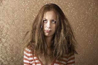 Image result for rambut kusam