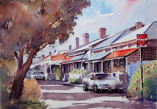 Watercolours By Anita Bentley Unframed Paintings