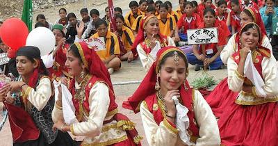 Uttrakhand ka baare mein devbhoomi  Dance
