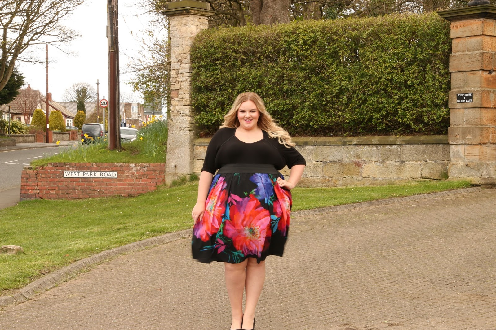 Scarlett and Jo Plus Size Sweetheart 2-In-1 Dress