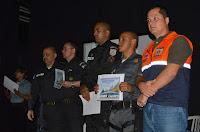 Cel. Ricardo Leal, Secretário de Defesa Civil, participa da premiação da PM