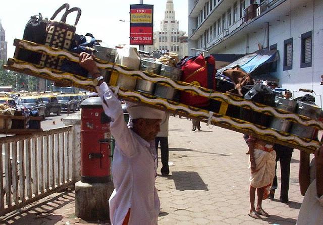 インドのお弁当運び屋さん