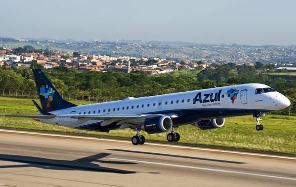 Aeroporto de Caruaru terá voos da Azul Linhas Aéreas após acordo da empresa com o governo do estado