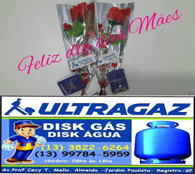 Promoção do dia das mães da Ultragaz de Registro-SP