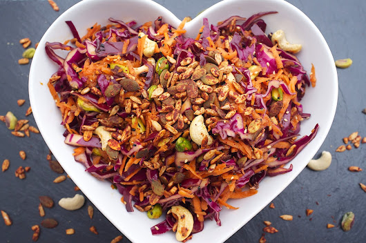 GUEST BLOG RECIPE: 'RAW ASIAN SLAW' BY PUNCH FOODS