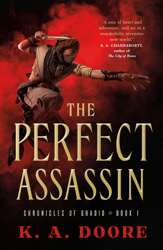 Interview with K. A. Doore, author of The Perfect Assassin