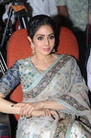 Sri Devi in designer saree stunning beauty at the launch of MOM movie Trailer~  Exclusive 140.JPG
