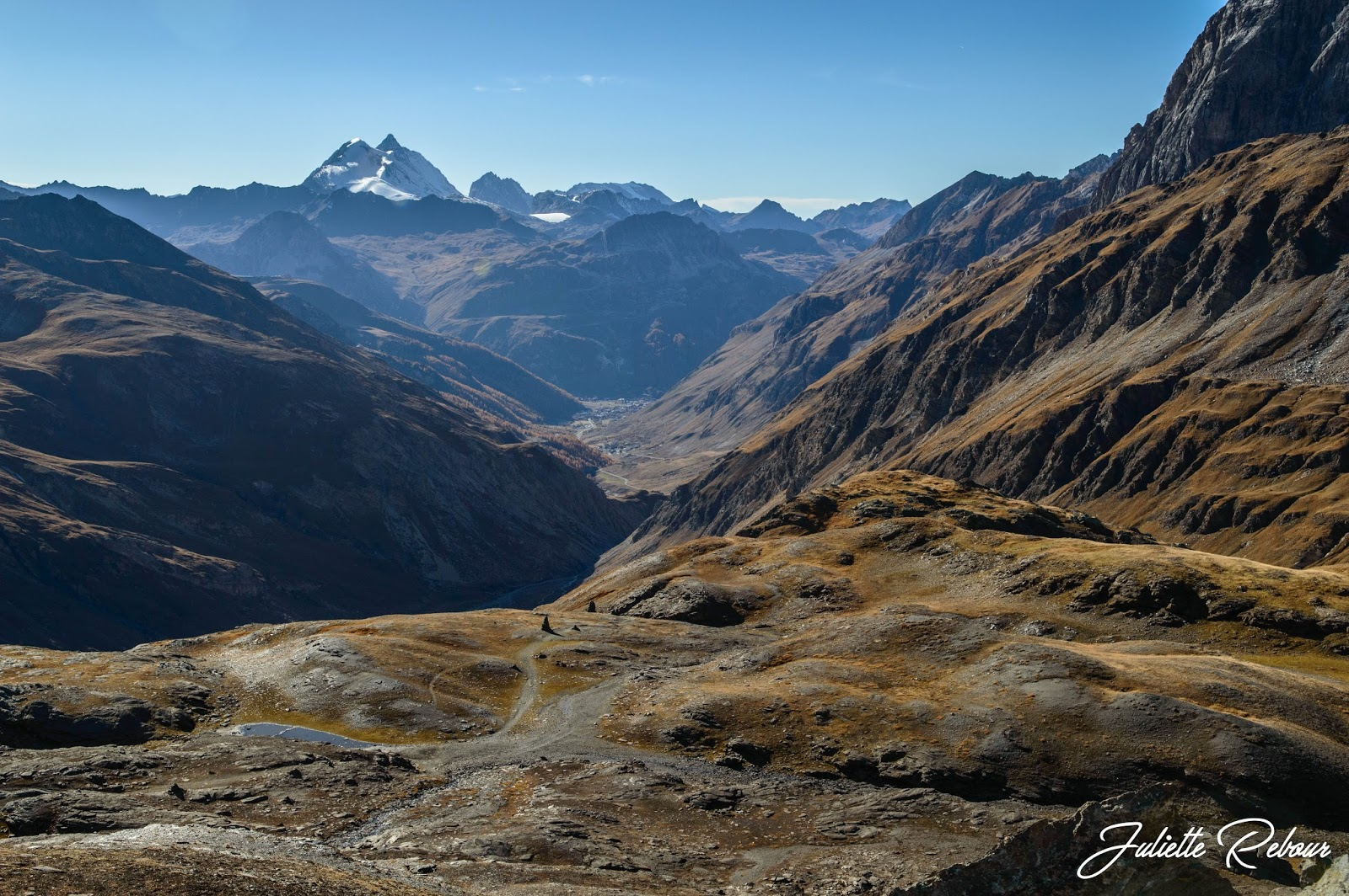 Randonnée à Val d'Isère dans le Parc National de la Vanoise