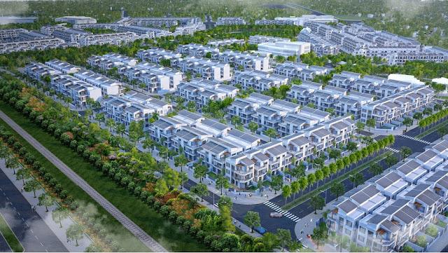 Phối Cảnh Thiết Kế Đồng Bộ Toàn Khu Đô Thị Foresa Villa – Khu Đô Thị Sinh Thái Xuân Phương Tasco
