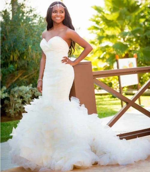 nigerian wedding mermaid dresses