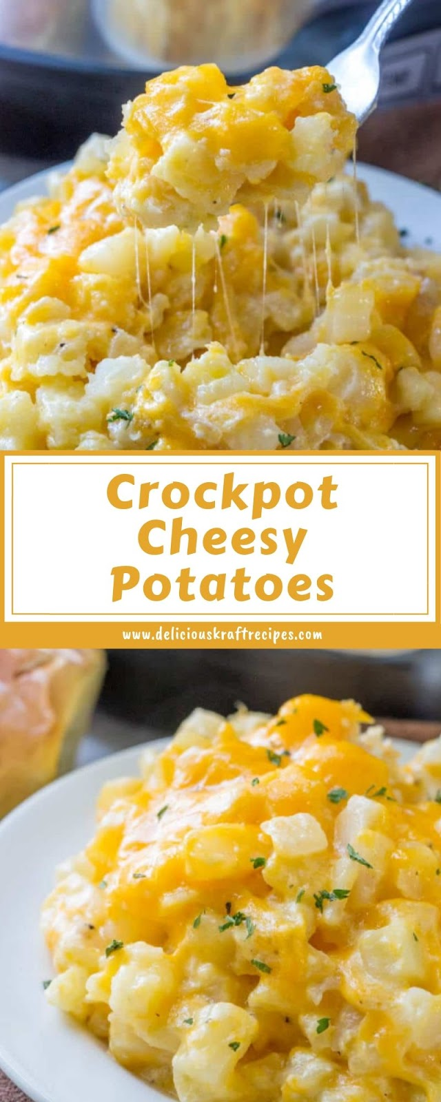 Crockpot Cheesy Potatoes