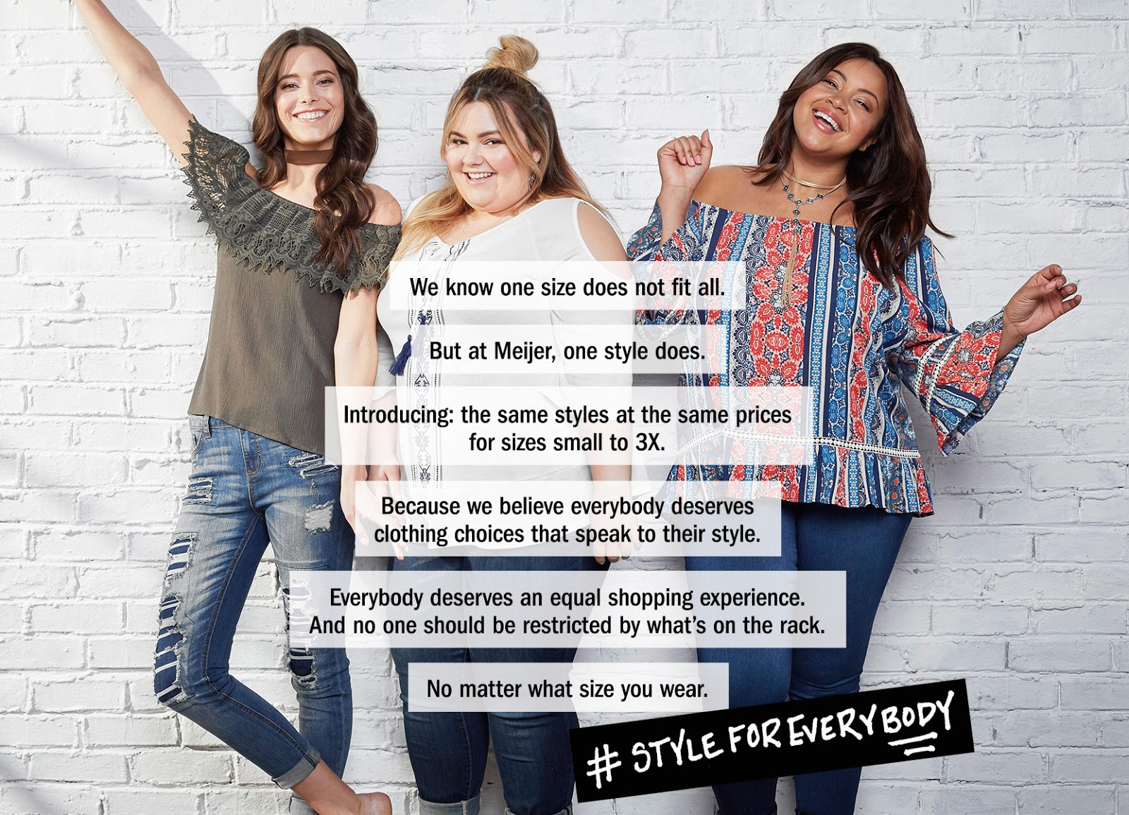 who is that girl in the Meijer's plus size campaign, #styleforeverybody, meijer stores, midwest, meijer sizes small through 3x, meijer womens department, meijer plus size department, meijer radio ad, natalie in the city, natalie craig, plus size fashion blogger, spring style, plus size