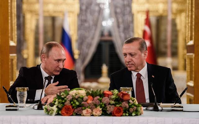 Πούτιν – Ερντογάν, φίλοι μπορεί, σύμμαχοι… θα δούνε!