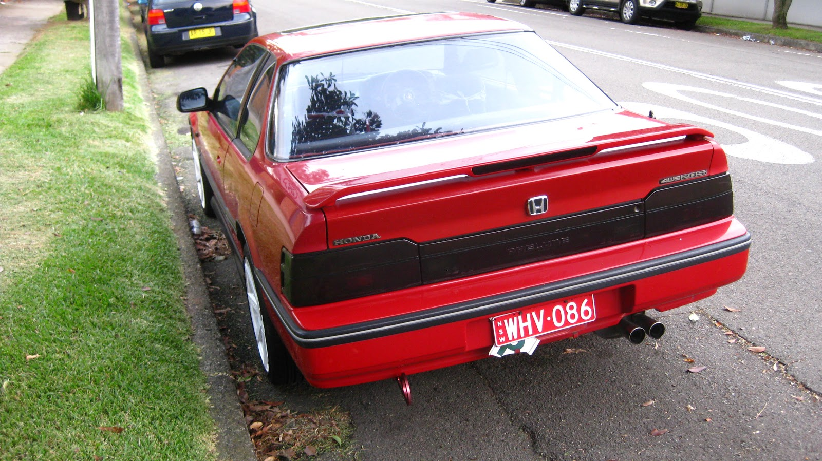 aussie old parked cars 1988 honda prelude 2 0si 4ws. Black Bedroom Furniture Sets. Home Design Ideas