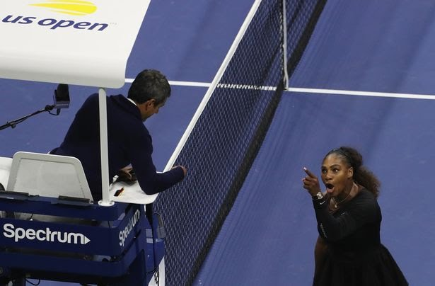 Serena Williams fined 7 thousand dollars for accusing  umpire of sexism
