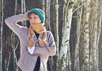 Poznaj kilka sposobów na zawiązanie szalika