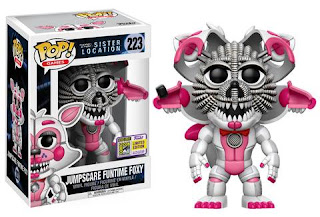 Pop! Games: Sister Location – Jumpscare Funtime Foxy.
