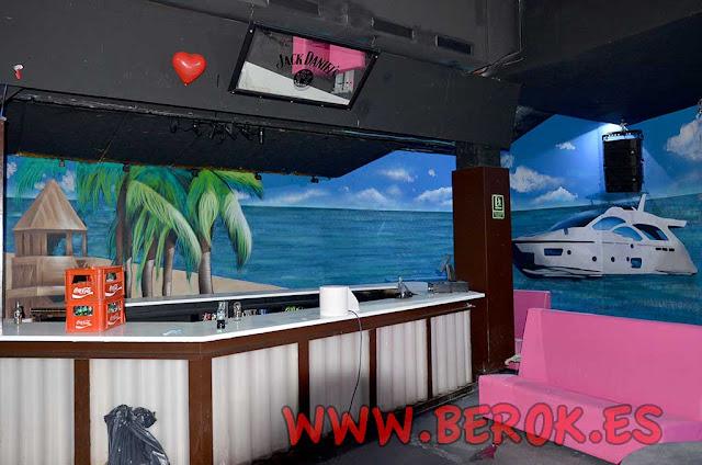 murales discoteca Bora Bora Zona Hermética de Sabadell